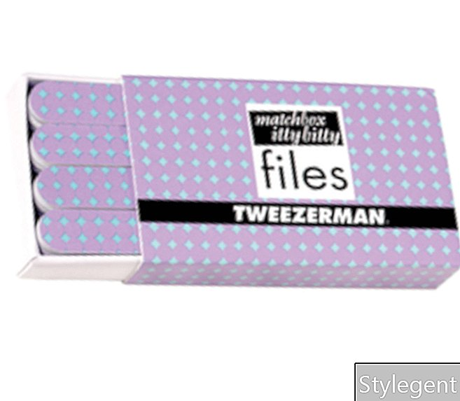 Tweezerman Matchbox Itty Bitty neglefiler