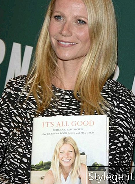 Skuespillerinde Gwyneth Paltrow underskriver sin nye bog 'It's All Good: Delicious, Easy Recipes That Will Make You Look Good and Feel Great' i Barnes & Noble boghandel i The Grove den 3. april 2013 i Los Angeles, Californien. (Foto af Jason Merritt / Getty Images)