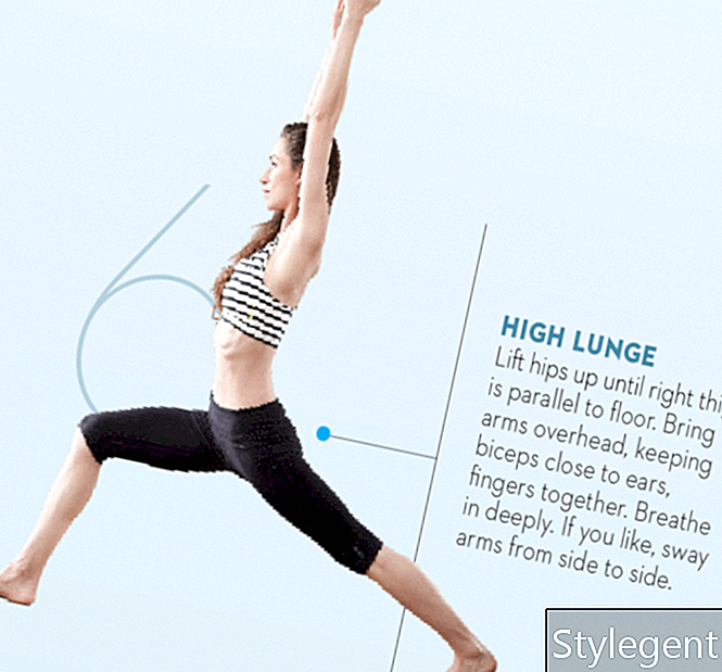 Tara-Stiles-Yoga-Workout-für-Kraft-High-Longe-Pose