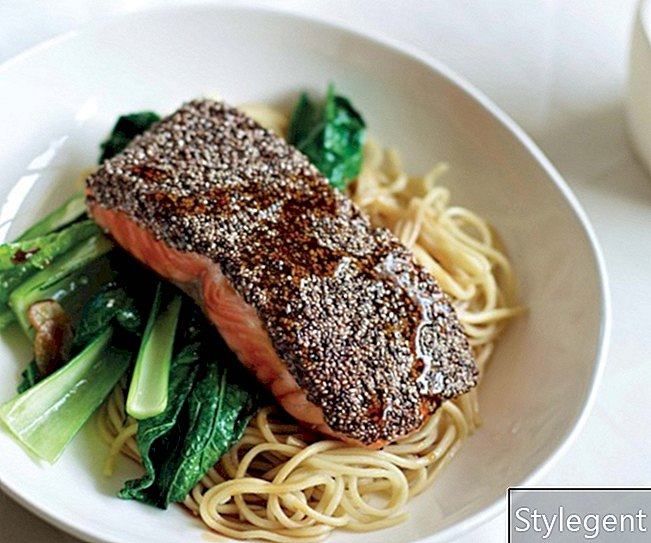 Supergrains Chia Crusted Salmon opskrift