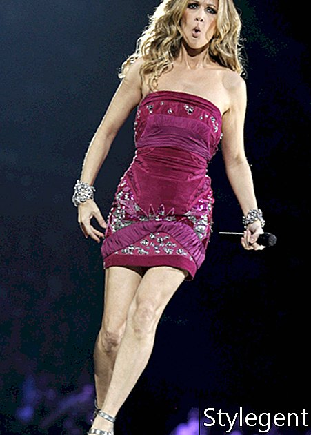 Die Sängerin Celine Dion tritt am Montag, 15. September 2008, im Madison Square Garden in New York auf. (AP Photo / Jason DeCrow)