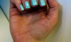 Tendencia a probar: Minty Nails