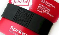 Spring ist Partner von War Child